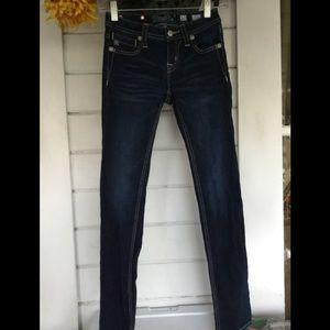 Miss Me Girls Embellished Super Skinny Jeans